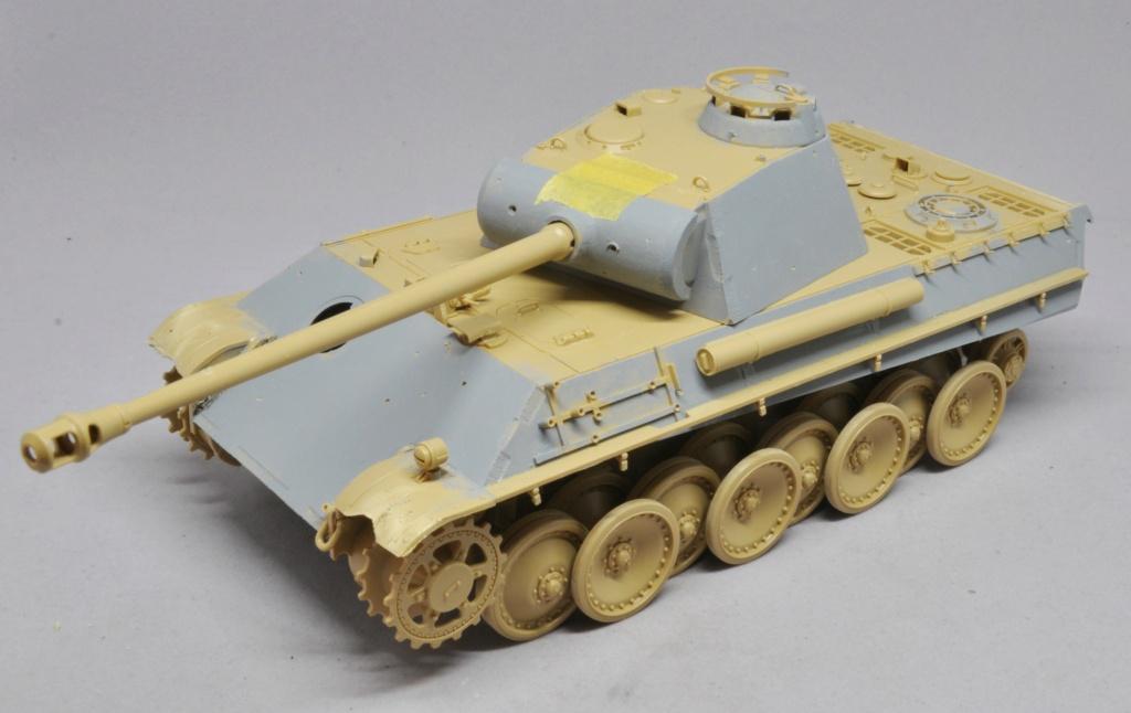 Panther Ausf G de Ernst Barkmann - bataille des Ardennes - Tamiya - 1/35 Dsc_1551