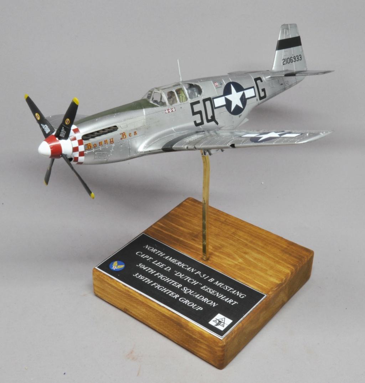 North American P-51 B Mustang - Tamiya - 1/48 Dsc_1596