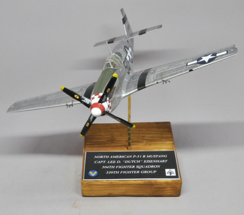 North American P-51 B Mustang - Tamiya - 1/48 Dsc_1597