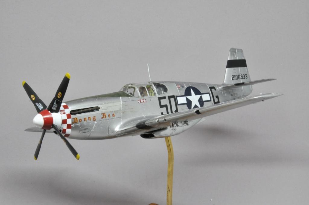 North American P-51 B Mustang - Tamiya - 1/48 Dsc_1600