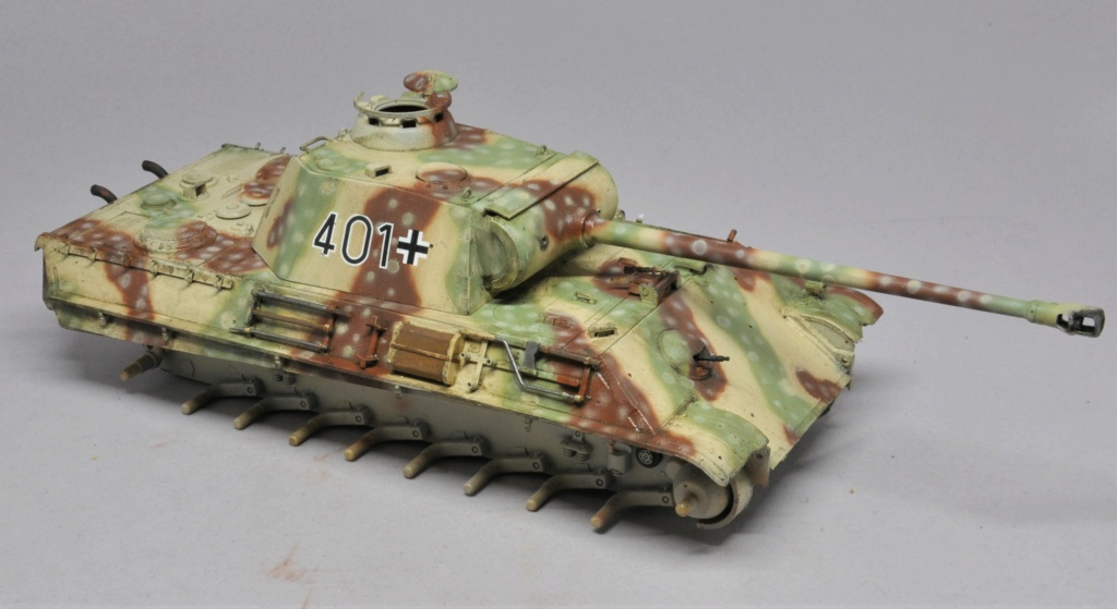 Panther Ausf G de Ernst Barkmann - bataille des Ardennes - Tamiya - 1/35 Dsc_1843