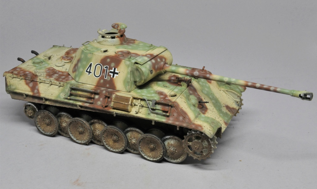 Panther Ausf G de Ernst Barkmann - bataille des Ardennes - Tamiya - 1/35 Dsc_1845