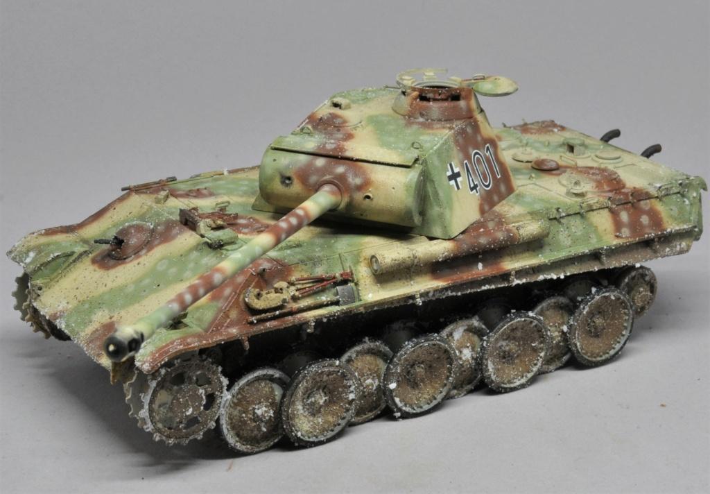 Panther Ausf G de Ernst Barkmann - bataille des Ardennes - Tamiya - 1/35 Dsc_1846