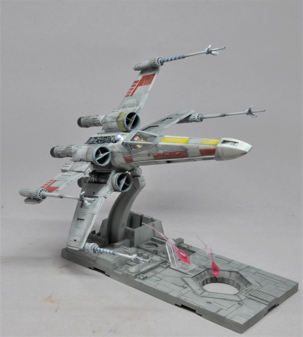 Star Wars X-Wing - Bandai 1/72 Dsc_1951