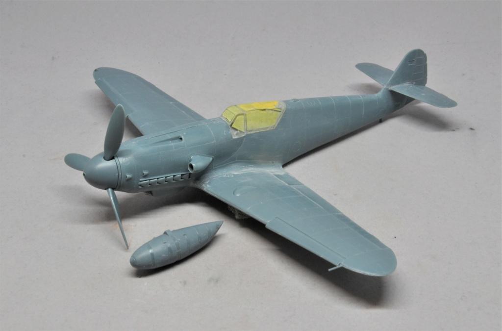 Messerschmitt Bf-109 G14/AS - JG27 - Eduard - 1/48 Dsc_2119