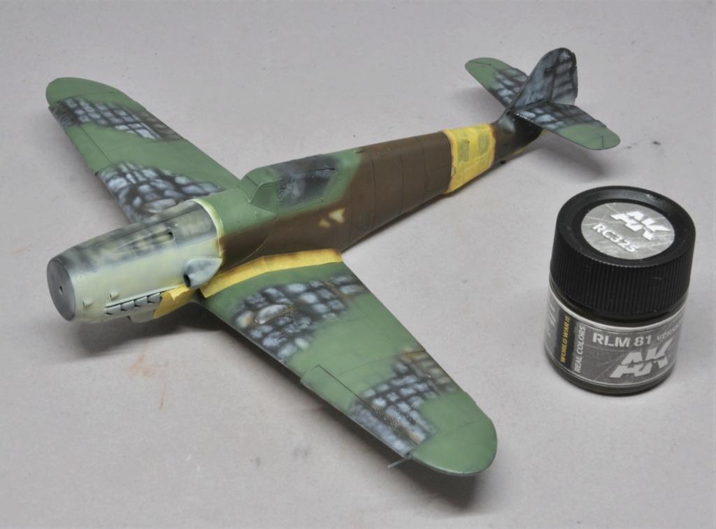 Messerschmitt Bf-109 G14/AS - JG27 - Eduard - 1/48 Dsc_2127