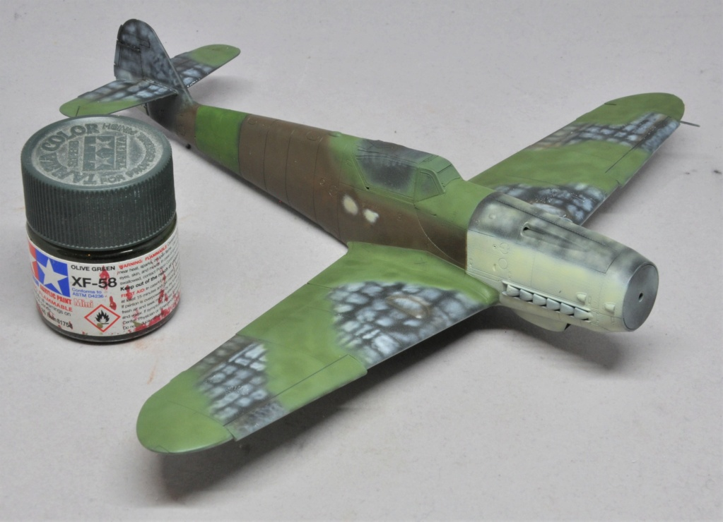 Messerschmitt Bf-109 G14/AS - JG27 - Eduard - 1/48 Dsc_2128