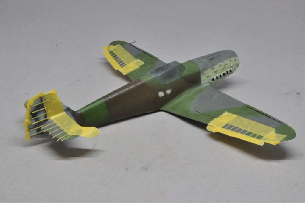 Messerschmitt Bf-109 G14/AS - JG27 - Eduard - 1/48 Dsc_2141
