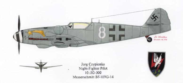 Messerschmitt Bf-109 G14 - Eduard - 1/48 Painti13