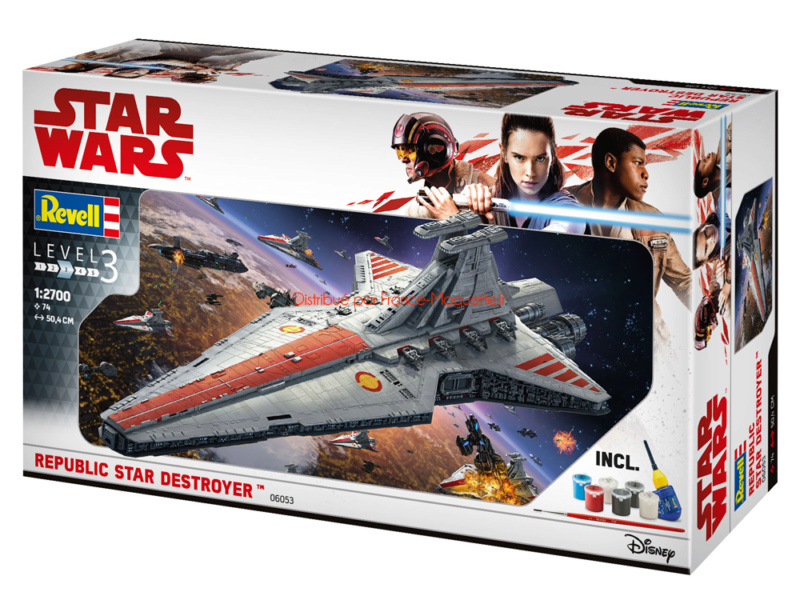 Destroyer Classe Venator - Star Wars - Revell 1/2274 Revell10