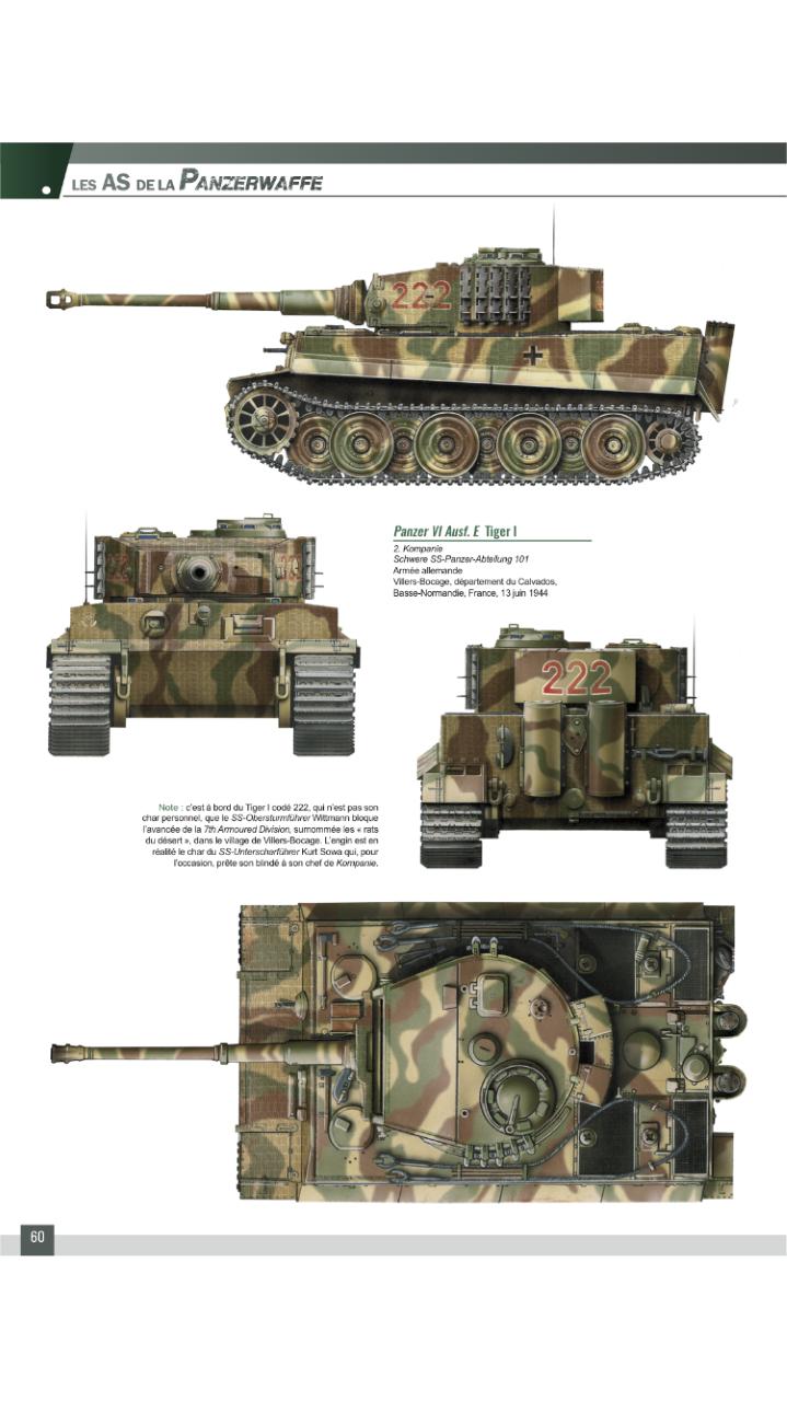 Tiger 1 de Michael Wittmann à Villers Bocage - 1944 - diorama tamiya 1/35 Thumbn10