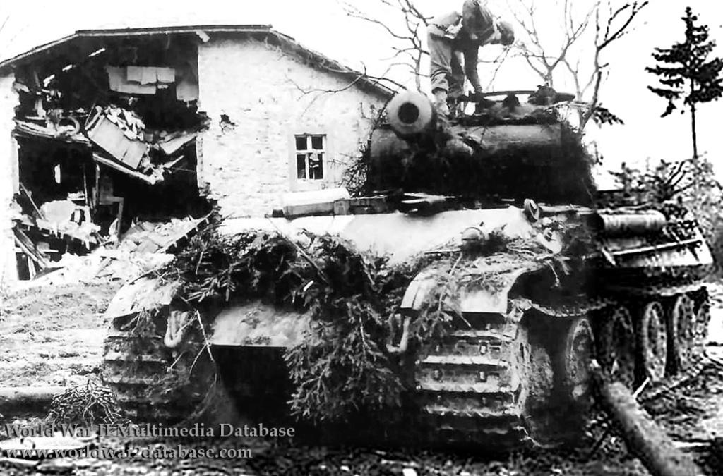 Panther Ausf G de Ernst Barkmann - bataille des Ardennes - Tamiya - 1/35 Wwii0110