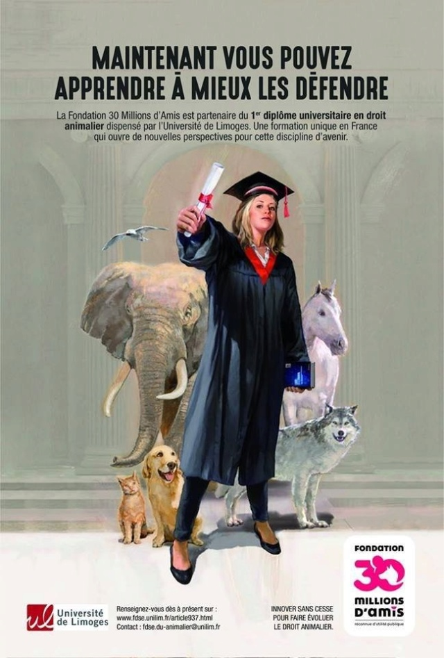 1er diplôme universitaire en droit animalier . Image352