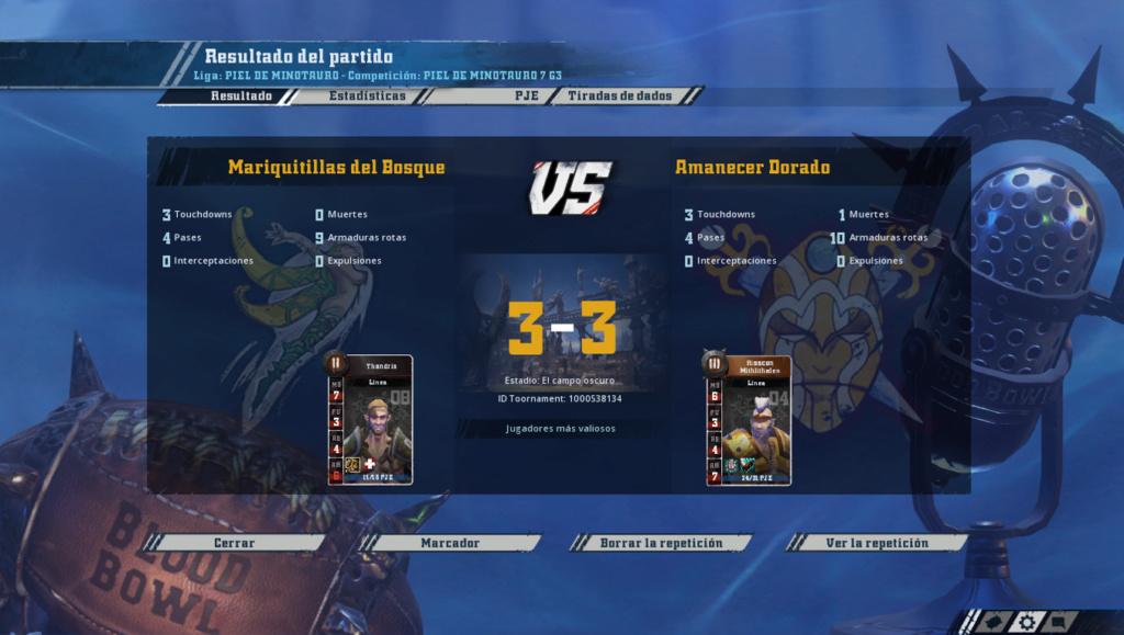 Campeonato Piel de Minotauro 7 - Grupo 3 / Jornada 3 - hasta el domingo 28 de octubre Imagen12