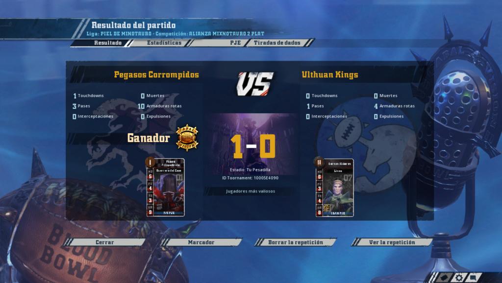 Liga Alianza Mixnotauro 2 - División Cuerno de Bronce - hasta el domingo 5 de mayo Screen20