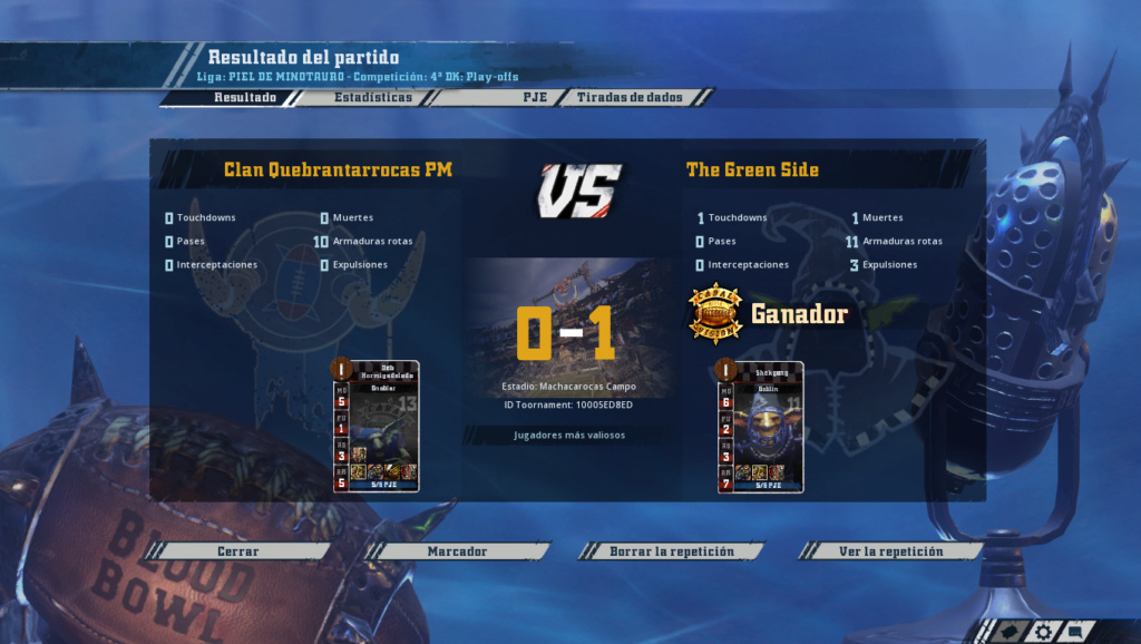 4ª Doblez Karakolaz - Playoffs (Cuartos de final - hasta el domingo 28 de abril) Screen21