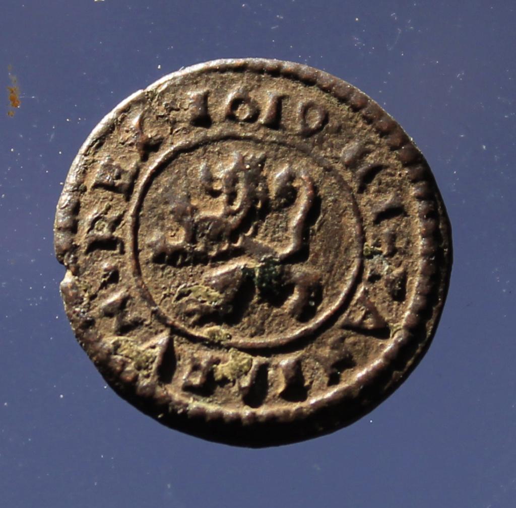 2 maravedís de Felipe III de Segovia, 1619. _mg_7351