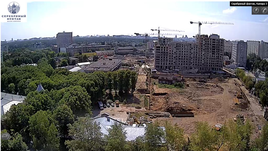 Веб-камеры на площадке строительства ЖК «Серебряный фонтан»  - Страница 5 210