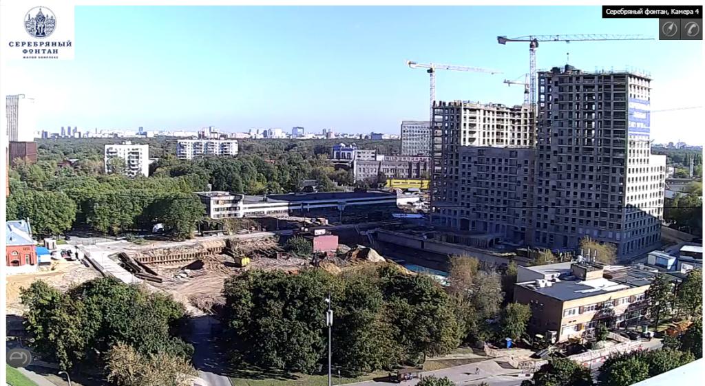 Веб-камеры на площадке строительства ЖК «Серебряный фонтан»  - Страница 5 2510