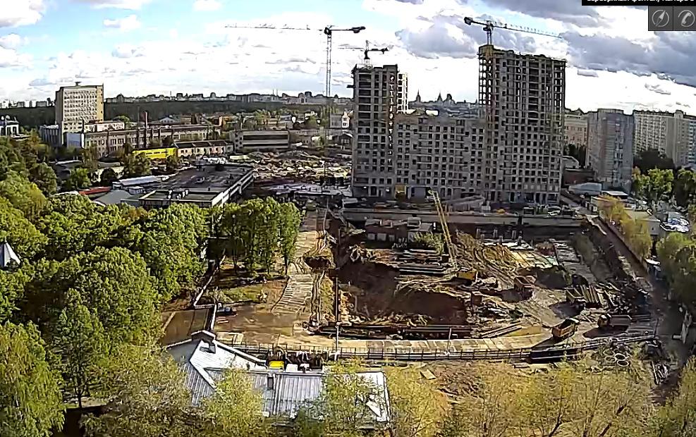 Веб-камеры на площадке строительства ЖК «Серебряный фонтан»  - Страница 5 27210