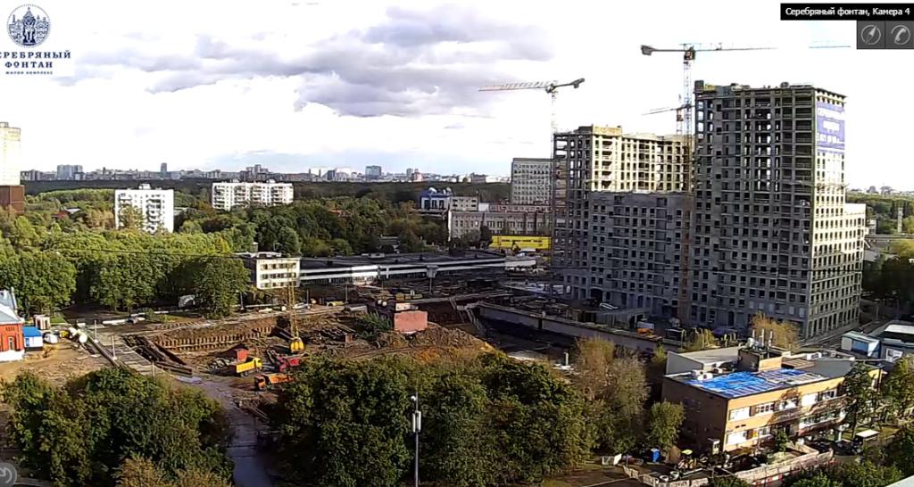 Веб-камеры на площадке строительства ЖК «Серебряный фонтан»  - Страница 5 27ei10