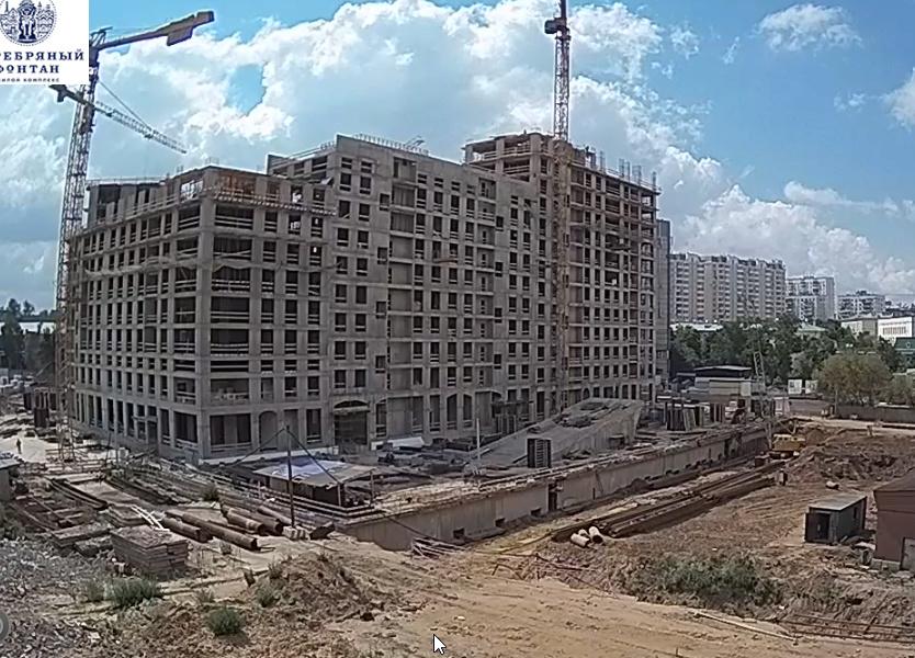Веб-камеры на площадке строительства ЖК «Серебряный фонтан»  - Страница 4 99999910