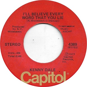 Kenny Dale - Discography 45_b_s10