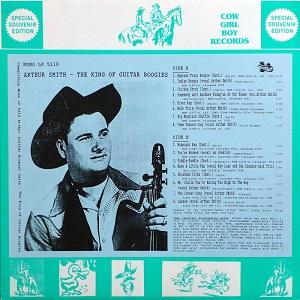 Arthur 'Guitar Boogie' Smith - Discography Arthur42