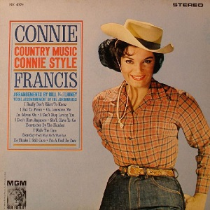 Connie Francis - Country Discography Connie42