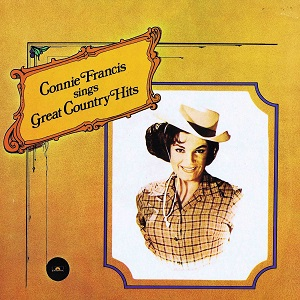Connie Francis - Country Discography Connie44