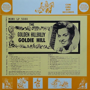 Goldie Hill - Discography Goldie19