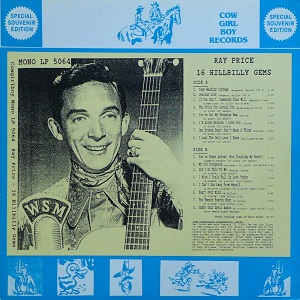 Ray Price - Discography (86 Albums = 99CD's) - Page 4 Ray_pr17
