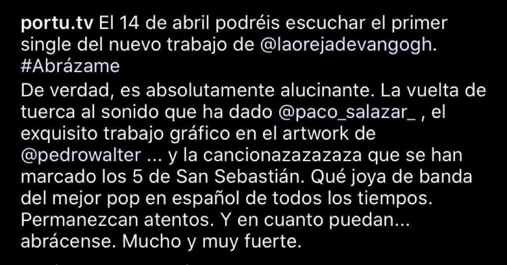 La Oreja de Van Gogh >> Preparando Nuevo Álbum - Página 4 Whatsa11