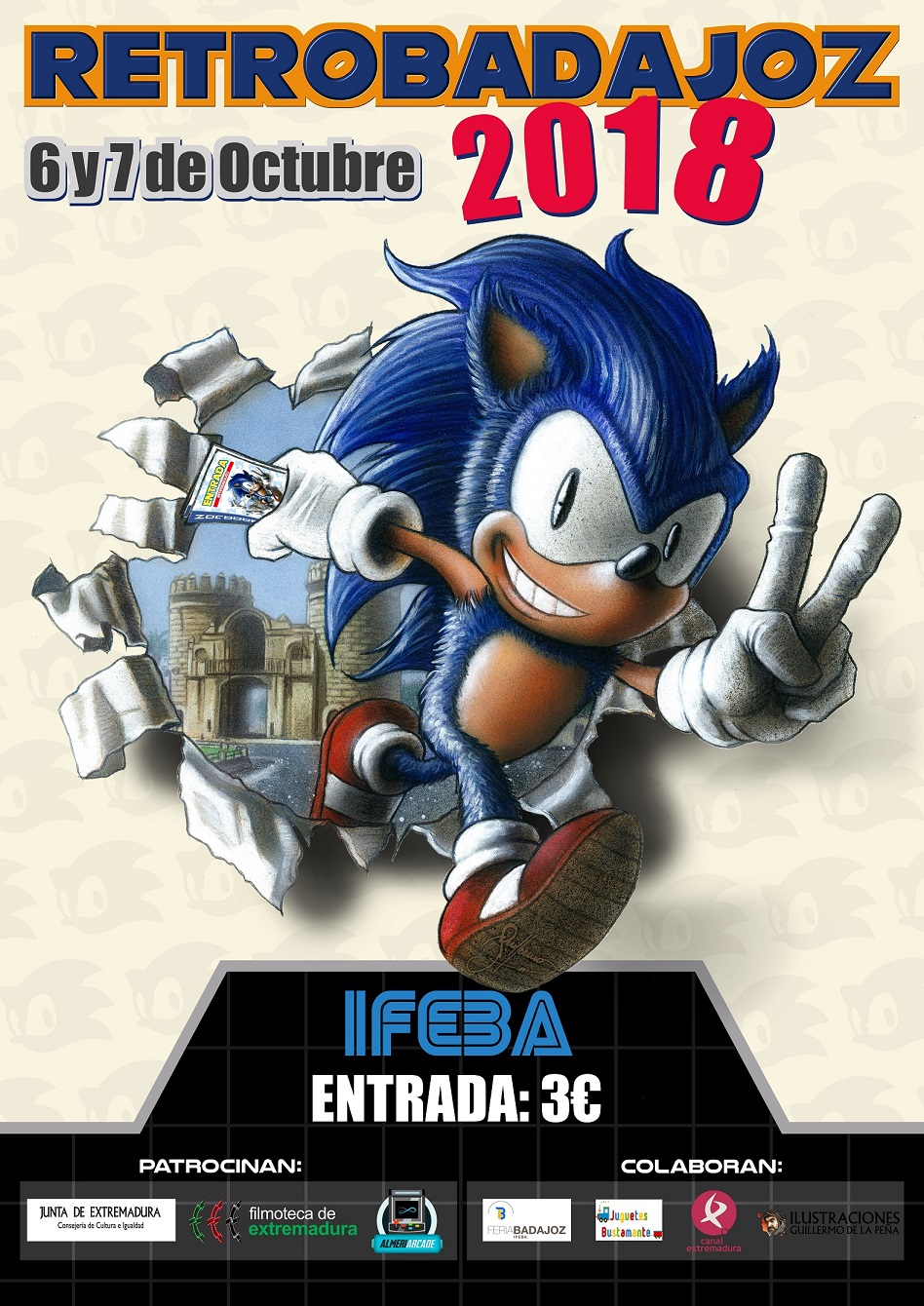 Retrobadajoz 2018 Cartel10