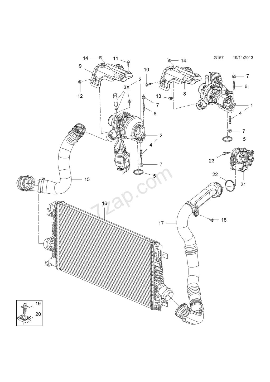 (BRICO J) JUNTA CHAPA PARA SEMIANULAR  EGR  MOTOR 1.6 CDTI 110 CV-136 CV    B16DTL- B16DTH - Página 5 29465710