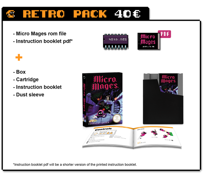 Micro Mages: A new game for the NES Cd9f1210