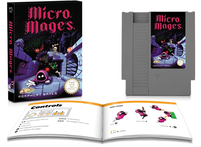 Micro Mages: A new game for the NES D519c810