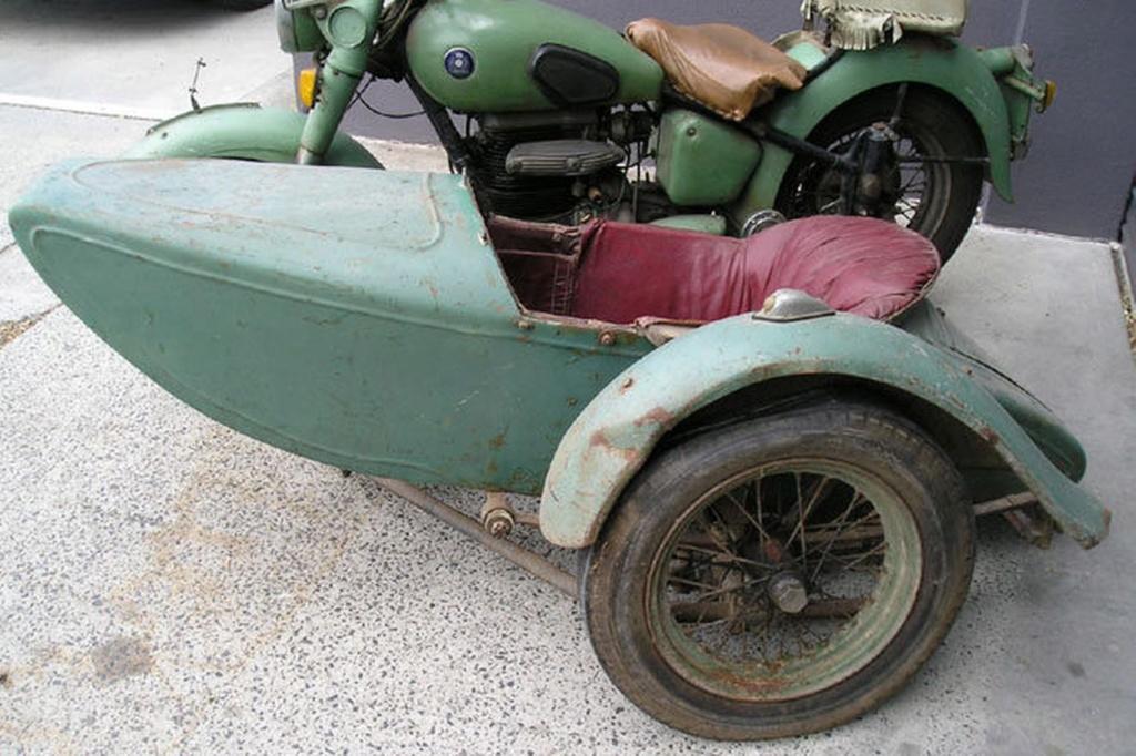 Side pour moto peugeot après guerre 1950-s10