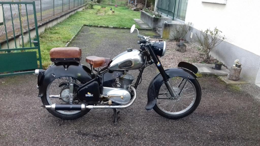 Side pour moto peugeot après guerre B12