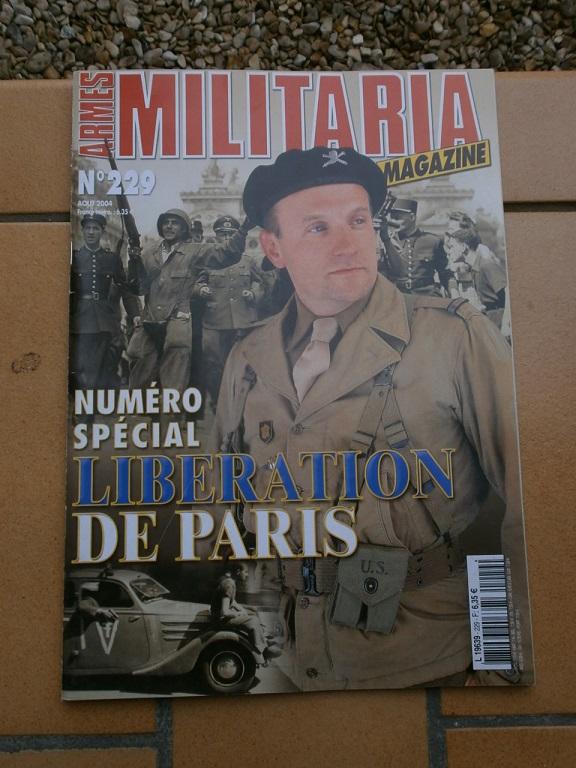 revue arme militaria special liberation Paris Armes_25