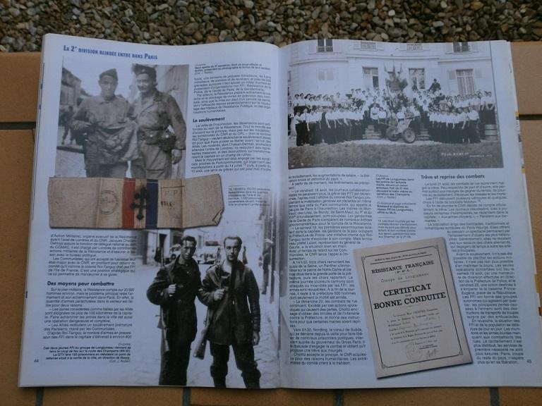 revue arme militaria special liberation Paris Armes_28