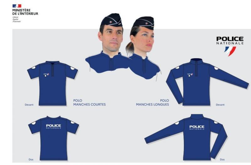 Des nouveautés dans l'uniforme/coiffure pour la Police B9728310