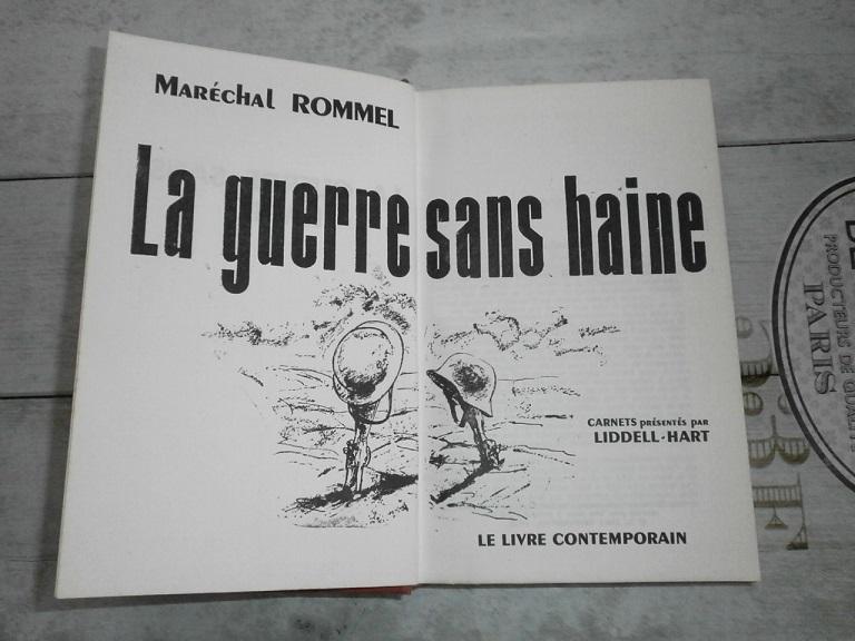 Lecture Afghanistan et WW2 Rommel  Livre513