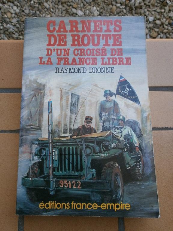 R. DRONNE - Carnets de route d'un croisé de la France libre Livre_63