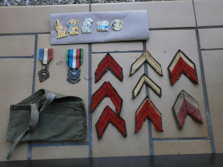 Rentrée aviation ,medaille, insigne , d-day Lot_0217