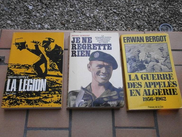 Rentrée lecture WW2 +legion etrangere Lot_2211