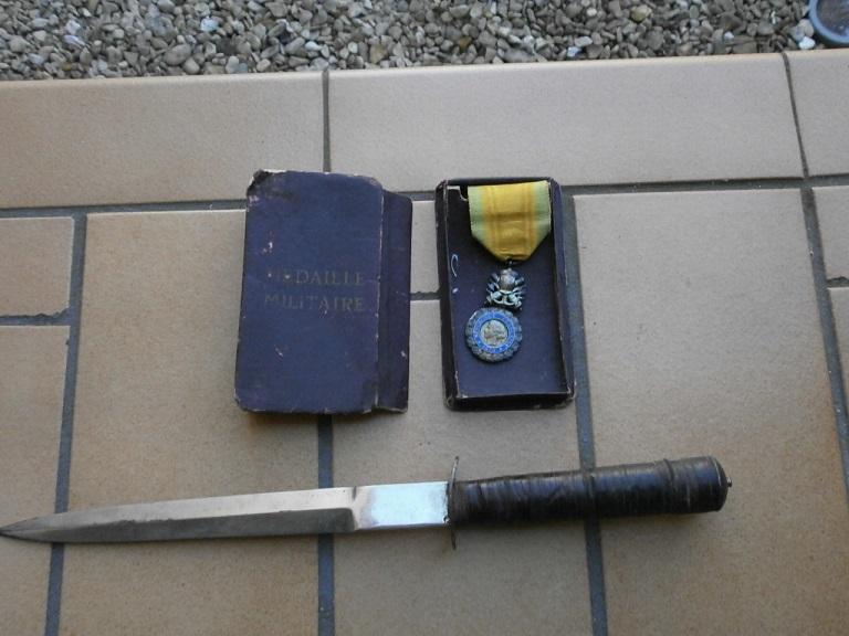 Rentrée medaille militaire et dague Lot_3110