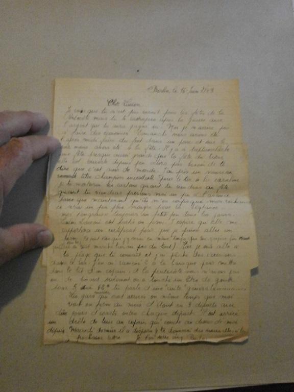 Lot papiers STO Allemagne et rationnement après guerre même personne Lot_ma18
