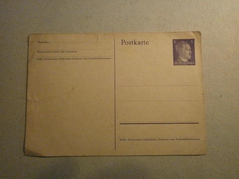 Lot papiers STO Allemagne et rationnement après guerre même personne Lot_ma23