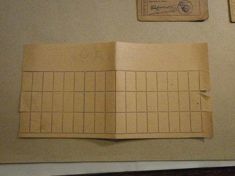 Lot papiers STO Allemagne et rationnement après guerre même personne Lot_ma37